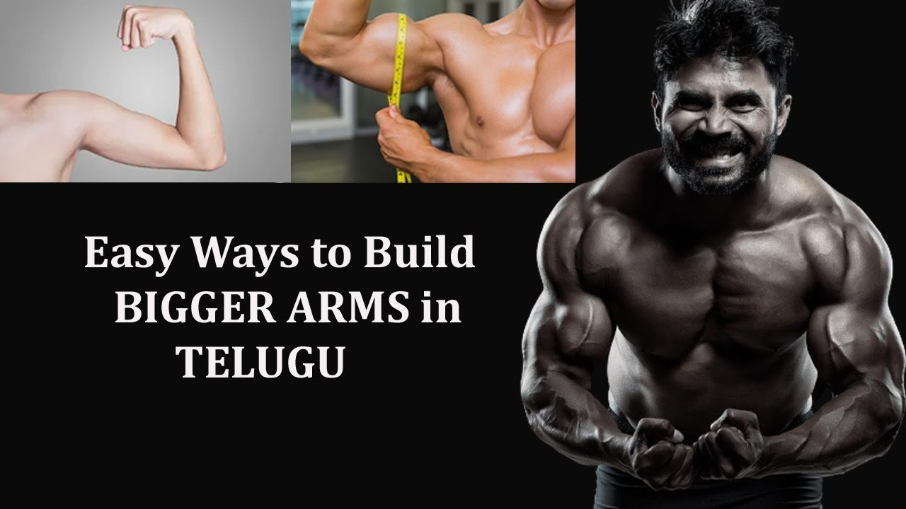 how to get bigger arms faster
