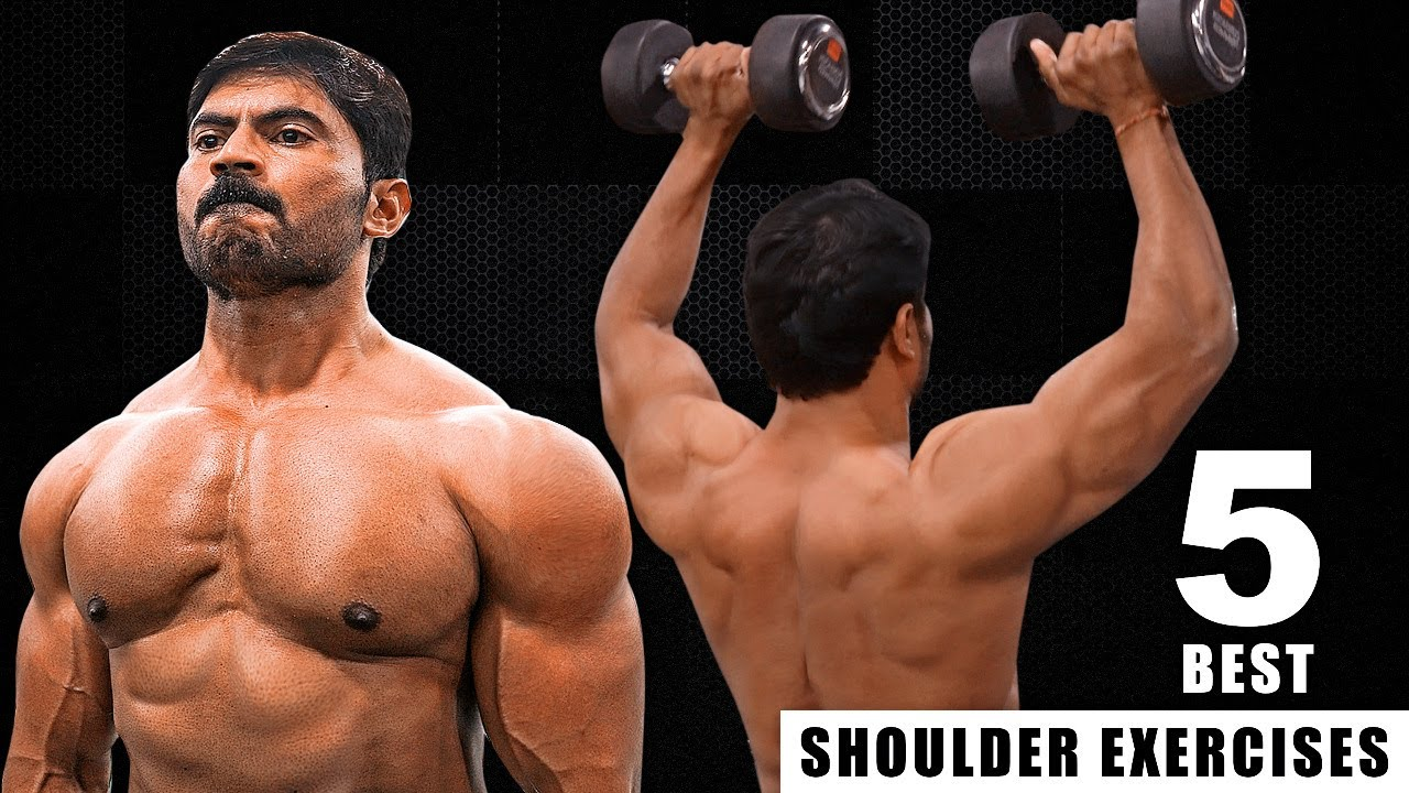 Best Shoulder Exercises for Men