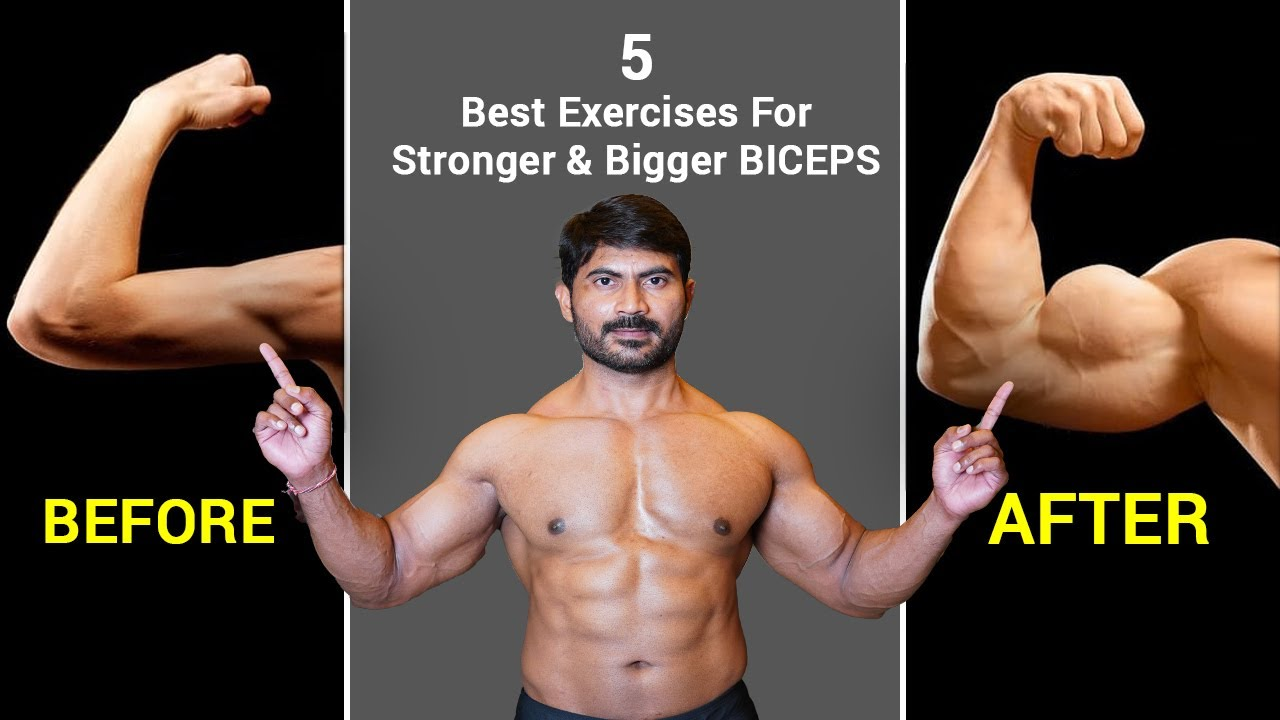 Exercises for Stronger Biceps