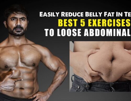 Best 5 Exercises to Lose Abdominal Fat || Easily Reduce Belly Fat In Telugu