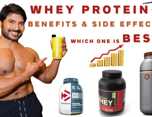 Benefits & Side Effects of Whey Protein Explained in Telugu