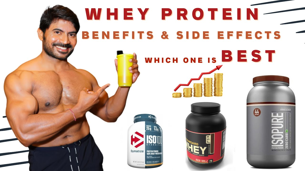 Benefits Side Effects of Whey Protein