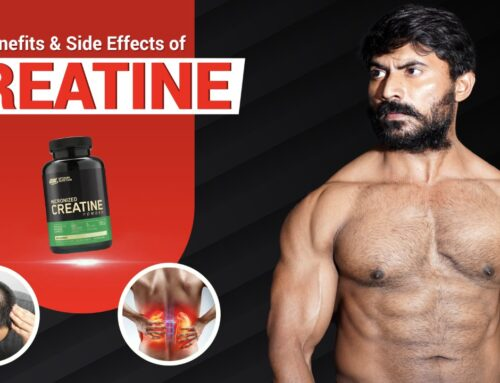 Benefits and Side Effects of CREATINE Supplement Explained in Telugu