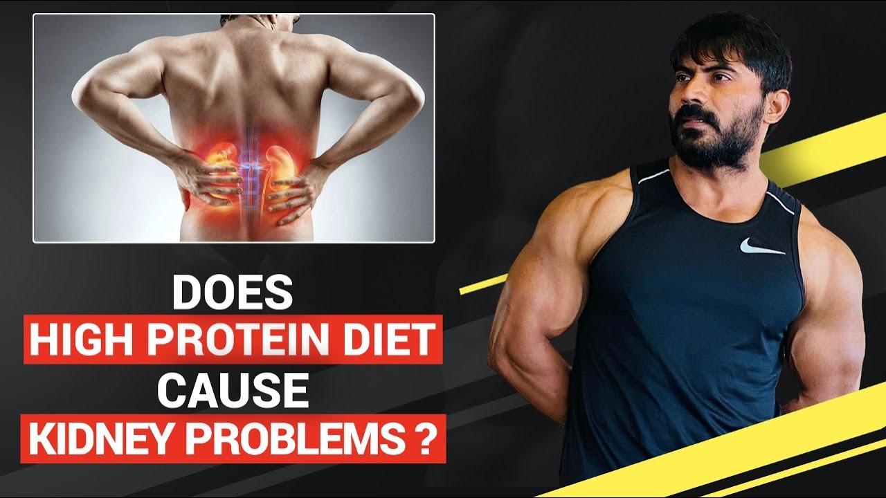 Does HIGH PROTEIN Diet Cause KIDNEY Problems