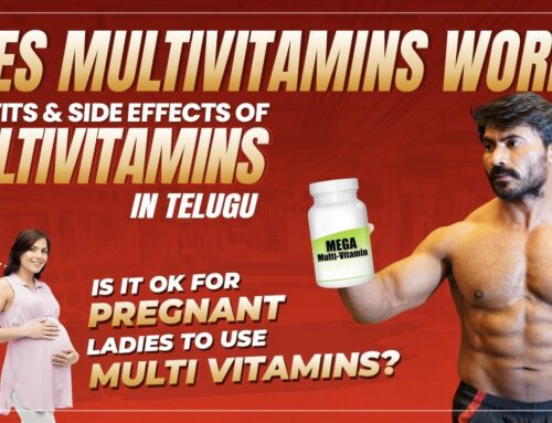 BENEFITS & SIDE EFFECTS OF MULTIVITAMINS IN TELUGU