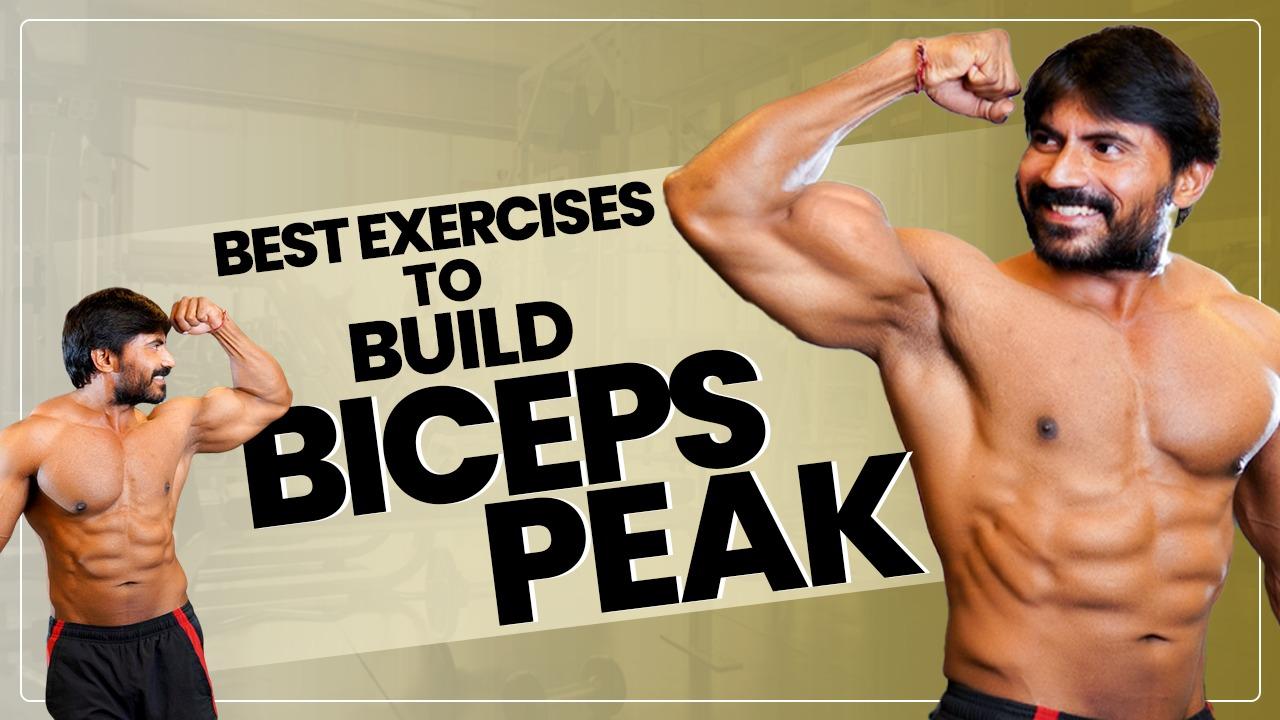 Top 3 Exercises for Biceps Peak