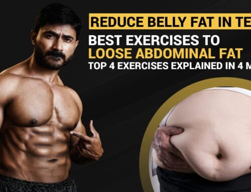 Best ABDOMINAL FAT Burning Exercises || Top 4 Exercises to Reduce BELLY FAT in Telugu